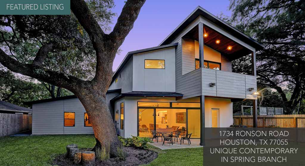 Houston Townhomes Modern Homes For Sale Inner Loop
