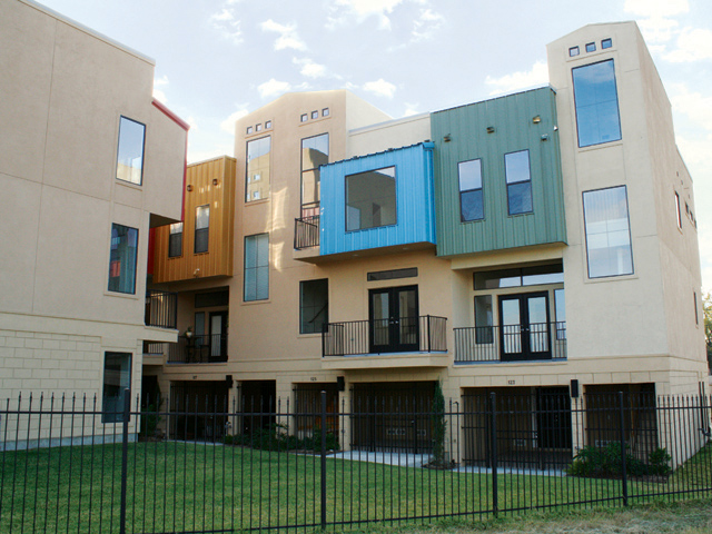 West End Townhomes Houston