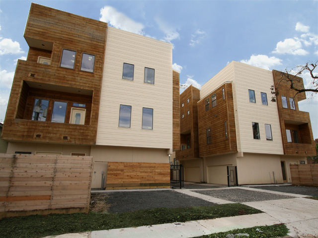 West End Townhomes : Heights Townhomes : Houston, TX