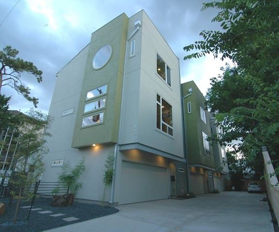 Maxie Moderne Townhomes Rice Military Memorial Park