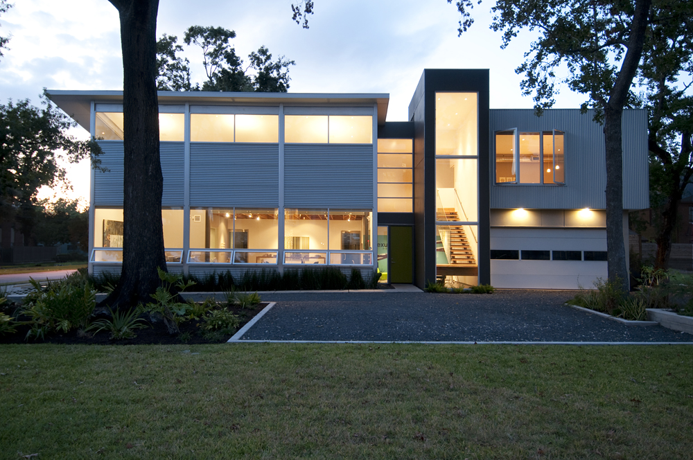 Houston architects modern architecture in houston for Modern houses in houston